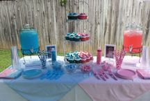 Gender reveal and baby shower ideas