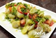 bakla salatasi