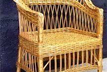 плетения мебель