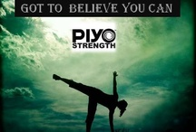 Workout - PIYO/Yoga/Pilates / PIYO and YOGA workouts / by Michelle Durheim