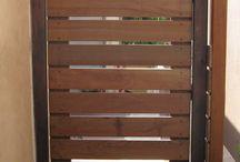 Portões madeira
