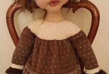 Needlefelted dolls