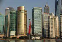 Shanghai, les quais, entre autres places... / Peu de photos de Chine cette année, mais quelques jolies photos tout de même...