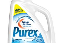 My purex favorites / I love purex products because they are gentle and I have never had a problem with them concerning having a bad reaction or skin problem. Overall I find them to be awesome laundry products and they are very affordable. <3<3<3 / by Cheryl Saxton