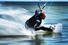 Kitesurfing / Kitesurfing amazing sport