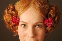 Biedermeier hair