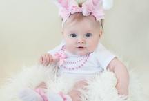 tiara de bebê coelhinha