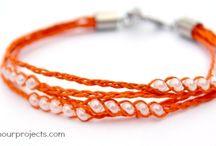 Hemp Bracelet Tutorials