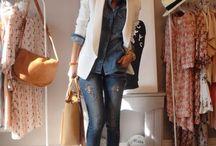 {Fashion} Americana blanca