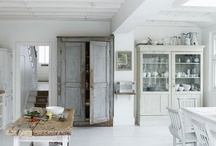 White Washed/house ideas / apparently I like barn wood and white washed stuff. / by Get Outside