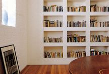 Bookshelves / The living space