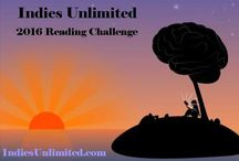 Indies Unlimited 2016 Reading Challenge / 12 months, 12 books - who are you going to read? Indie books only! #IUReadIndie2016
