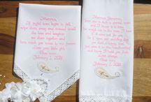 Pasley Wedding Handkerchiefs / Pasley Wedding Theme #wedding #weddinggift