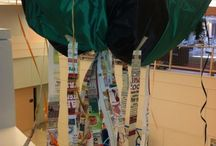Welcome Day / #DAAP freshmen created animals out of found objects as a Welcome Day project.