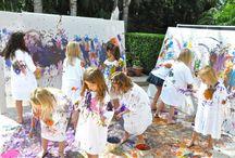 Art parties for kids