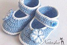 chaussure crochet
