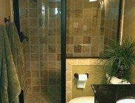 """Bathroom Remodel / Remodeling ideas to make our basement bathroom more """"adult"""" friendly."""