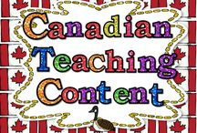 Canadian Teaching Content: Teaching Ideas for Canadian Classrooms