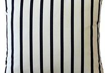 Striped Throw Pillows
