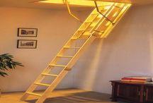 modelos de escaleras para el ático