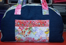 """""""INSPIRED TO SEW by BARI J. FOR STASH BOOKS ✯ / Inspiration from my book, Inspired to Sew. Sewing ✯ sew ✯ crafts ✯ books ✯ projects ✯ handbags ✯ bags ✯ fabric ✯ fabric collage ✯ quilting"""
