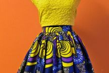 | African infused fashion