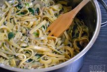 Pasta! / pasta dishes in all shapes and forms.