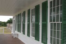 Exterior Shutters / The Louver Shop is now carrying a full line of exterior shutters!