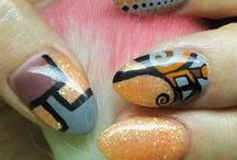 Abstract nail ideas