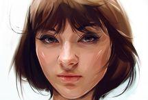 digital drawings i like