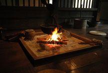 暖炉・囲炉裏・かまど