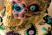 25th Birthday  / Sugar skull theme! / by Ashley Creason