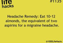 Migraine cures and hints