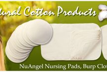 NuAngel's Natural Cotton Products / NuAngel's Natural products are all made of 100% natural, unbleached cotton. Offering the most comfort with plenty of protection, Natural products are great for mom and baby.