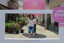 The Now Starter #liveyoungnow  Singapore / Follow evian's Now Starter, in Singapore, as it spreads the joy of living young now. You never know how you might be rewarded! http://liveyoungnow.sg/ / by evian