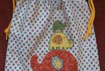 bolsas de tela infantiles