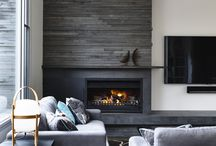 The Modern Fireplace / Custom homes need custom Fireplaces. Here's inspo we're using to develop design ideas for our current Custom Home projects.