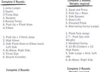Fitness workouts / by Kate Orsinger