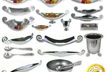 Swirl Handle Aluminium Tableware Range / Swirl Aluminium Tableware Collection Catalogue