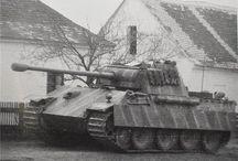 World War II. German Tanks