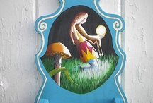 Decorative painting wall decor / by Twigs2 Whirligigs