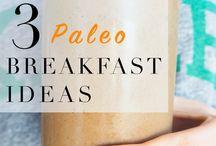 PALEO BREAKFAST (GF, DF) / Paleo breakfast ideas, paleo recipes, paleo breakfast recipes, gluten free breakfast, dairy free breakfast, AIP breakfast, healthy breakfast recipes, whole30 breakfast, breakfast ideas, paleo pancakes, paleo waffles