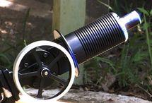 Sustainable energy - Stirling engine / Moteur solaire - Stirling - Concentrateur optique - fresnel Lens - lentille de fresnel - thermodynamic effect - solar engine - froid réfrigération solaire - fridge - ice - cold machine -  / by Vector Maxip