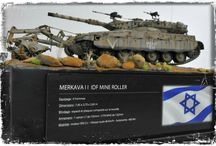 MERKAVA IDF MINE ROLLER