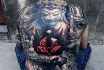 Tattoo plecy