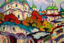 Painting. Valery Veselovsky