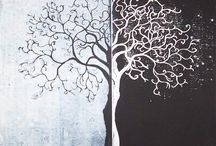 art - trees / by Beck Amy