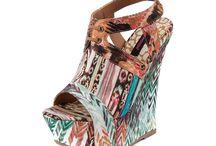 wedges / wedge heels