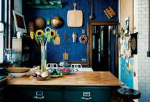 Kitchen Ideas / I always had a fantasy of being a chef, because I like kitchen life. Geoffrey Rush  / by Monica Monteiro