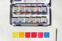 watercolor pan package
